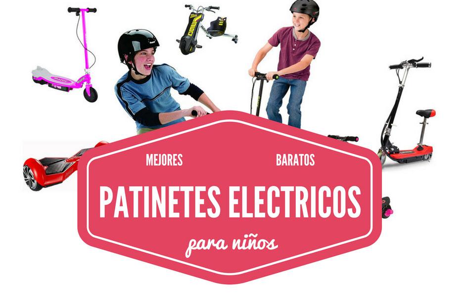 Los mejores patinetes eléctricos baratos para niños